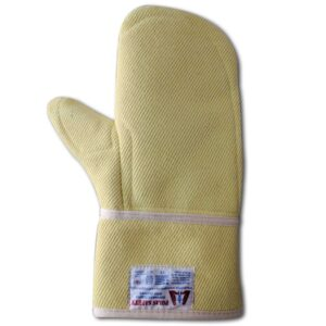 Reinforced Mittens from Para Aramid Heat Resistant
