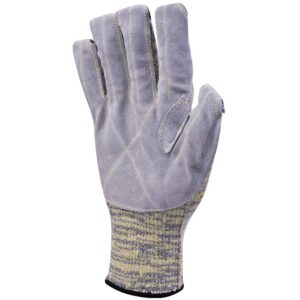 Heat Resistant leather knitted gloves TAEKI DeltaPlus