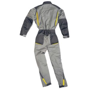 Corporate workers overall double zip cotton polyester
