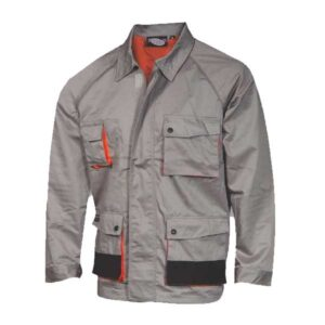 Oxford fabric Jacket with zipper & Velcro FAGEO