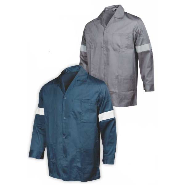 Workwear jacket with reflective details FAGEO